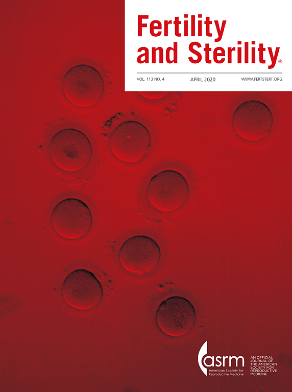 Fertility & Sterility Journal used for Research by Madison Acupuncture & Complementary Medicine